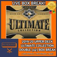 🔥🏒2019-20 ULTIMATE COLLECTION (x2) DOUBLE BOX BREAK #53 - PICK YOUR OWN TEAM!