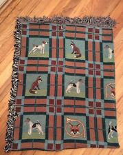 Jack Russell Parsons Wire Fox Smooth Fox Terrier Dog Akc Breeds blanket, new