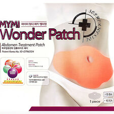 5Pcs Slimming Patch Belly Slim Abdomen Weight Loss Fat burning Cream Navel Stick