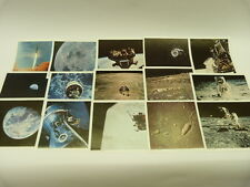 VINTAGE 1969 NASA APOLLO 15 PHOTO SET moon space ASTRONAUT LUNAR LANDING mission