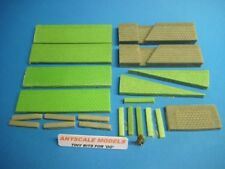 OO/4mm Model Railway. Harbour wall/quay side sections. (0110)