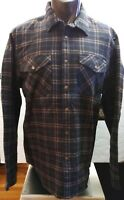 Winter Shirt Polar Fleece Flannel, Men's XL size, Volcom, Black Color.