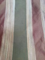 Baranzelli Silk Stripe Tafetta Fabric Drapery Upholstery 31.5 Yards