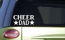 Cheer Dad *H797* 8 inch Sticker decal cheerleading cheerleader gymnastics