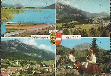 Alte Postkarte - Hermagor - Gailtal