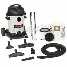 Shop Vac Pro 25L Stainless Steel Wet / Dry Vac1800W Canister Vacuum Cleaner New