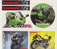 Shinya Nakano Kawasaki MotoGP Stickers Very Rare.