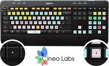 Cineo - Avid Pro Tools ® keyboard stickers for PC - Keyboard layout – US