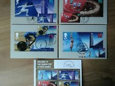 2012 OLYMPIC GAMES LONDON PHQ367 - FDI FRONT SPECIAL PICTORIAL HANDSTAMPS SHOWN