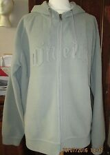 MEN'S VINTAGE UNIQUE O'NEILL HOODED GREY JACKET - SIZE LARGE - USED