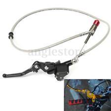 "7/8"" Handlebar Black Hydraulic Brake Clutch Lever Master Cylinder Pit Bike US"