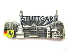 Stuttgart Schloßplatz Magnetic Metal, Souvenir Germany, Germany, New