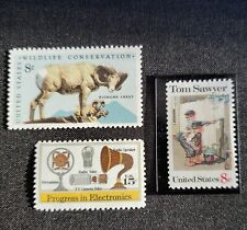 Us Errors, Freaks & Oddities Efo Collection of 3 Vf misregistration color