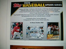 2020 TOPPS UPDATE BASEBALL TEAM SETS - ALL 30 MLB TEAMS -CHOOSE FROM DROPDOWN