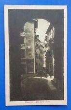 Cartolina ROVERETO (Trentino Alto Adige)  Via della Terra  (non viaggiata)  6/17