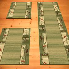 Bettumrandung Bestseller Schlafzimmer Grün 3 teilig 2x 70 x 140  1x 70 x 340