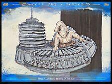 CONCEPT ART Series 3 BLUE #3 MAX REBO Topps STAR WARS DIGITAL CARD TRADER
