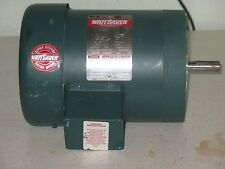 Leeson Watt Saver Motor 208/230/ 460 Volt 3/4 hp 1725/1425 Rpm Mod# 06717FC114C