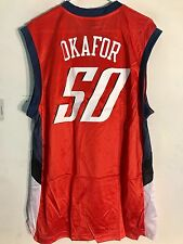 Adidas NBA Jersey Charlotte Bobcats Emeka Okafor Orange sz L