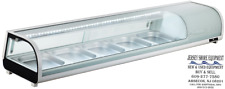 Spartan Refrig Ssc 71 Spartan Refrigerated Sushi Case 71 Led Lighting