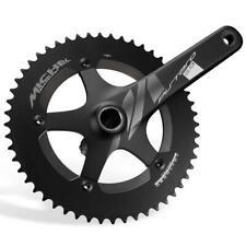 Miche Black Pistard 2.0 Fixed Gear Track Bike Crankset 165mm 48t 144 BCD