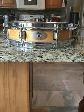 Pearl M1330 Maple Piccolo Snare Drum Natural Finish 13x3 Used
