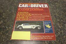 CAR AND DRIVER RADAR JAMMER FEBRUARY 1980 VOL.25 #8 9248-1 [LOC.ELK] (BOX B)#209