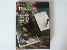 DÉDICACE CHRISTIANE SAND / A La Table De George Sand