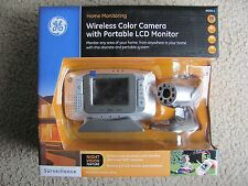 GE Home Monitoring Wireless Color Camera w/ Portable LCD Monitor & Night Vision