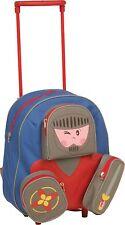 """Kinder Trolley Rucksack mit """"Gesicht"""" 3 Modelle Maße 38 x 28 x 20cm - NEU  -"""