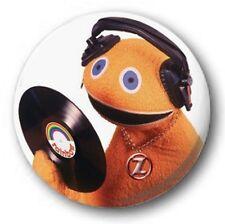 "DJ Zippy 25mm 1"" Button Badge - Kids Retro TV 80's Funny Rainbow"