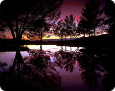 **MOUSE PAD - *Purple Reflections*  scenic  Computer Mousepad** NEW