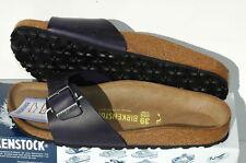 Birkenstock Madrid Cuir Chaussures Femme Homme 38 Sandales Mules Nu pieds Sabots