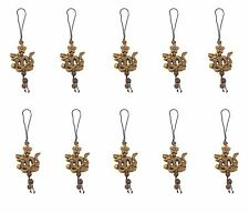 10 Brown Dragons Star Flower Cell Phone Good Luck Charm Strap Accessory Gift