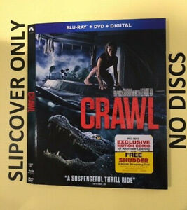 Crawl (2019) - Blu-ray Slipcover ONLY - NO DISCS
