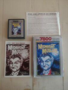 Midnight Mutants Atari 7800 CIB