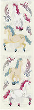 Mrs. Grossman's Stickers - Reflections Mystical Horses - Fantasy - 3 Strips