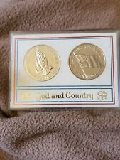 Franklin mint God And Country Coins
