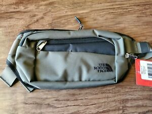 The North Face Bozer Hip Pack Fanny Waist Bag TNF Taupe Green