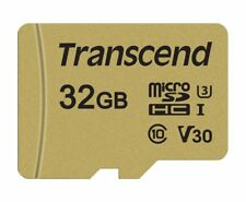 Transcend 32GB UHS-I U3 microSD with Adapter MLC memory card - Memory Cards