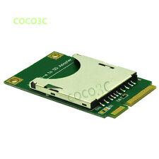 SD SDHC SDXC USH-I MMC to Mini PCI-e Memory Card reader mini PCI express SSD HDD