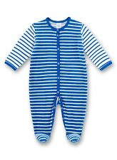 Schlaf-Overall, Blue Striped V.Sanetta Size 68-98