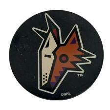 NHL Vegum Phoenix Coyotes Head Logo Hockey Puck Slovakia Some Wear