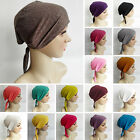 Fashion Muslim Women Lady Inner Hijab Caps Islamic Underscarf Headwear Hats