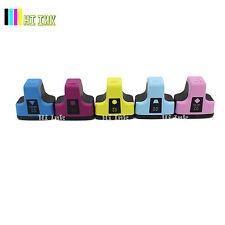 5 Pack 02 Color Ink For HP 02 Photosmart C7280 3310 D7360 D7160 C5180 8250