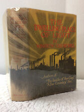THE DWELLING-PLACE OF LIGHT - Winston Churchill, 1917 1st ed in DJ, industrial