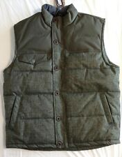 Woolrich Warm It Up Insulated Vest Large Green Olive Army L