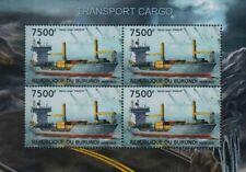 MV ANGELN Container Vessel Transport Cargo Ship Stamp Sheet (2012 Burundi)