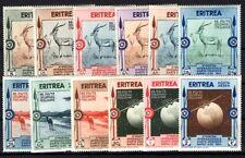 ITALIENISCHE KOLONIEN ERITREA 1934 222-232 ** POSTFRISCH TEILSATZ (M0166