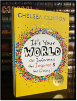 It's Your World ✎SIGNED✎ by CHELSEA CLINTON Hardcover 1st Edition First Printing